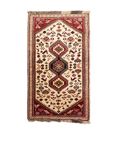 RugSense Alfombra Persian Kaskai Rojo/Multicolor 148 x 76 cm