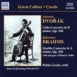 Brahms / Dvorak: Cello Concertos (Casals