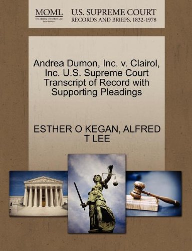 andrea-dumon-inc-v-clairol-inc-us-supreme-court-transcript-of-record-with-supporting-pleadings