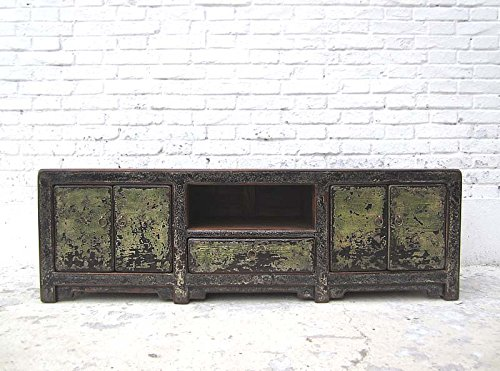 China Shabby Chic mueble Aparador plano para TV Pantalla Plana para Pino schmutzgrau Heavy Used aspecto de Luxury Park