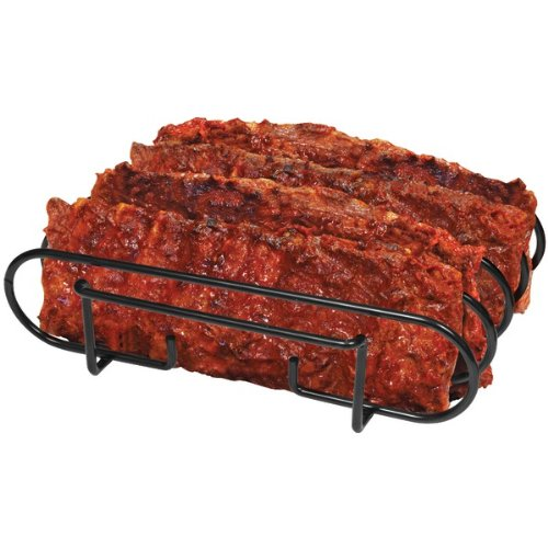 Best Review Of Brinkmann 812-9236-S Rib Rack for Grilling