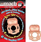 Gift Set Of Macho Mite Lights Flesh And one package of Trojan Fire and Ice 3 condoms total in package