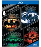 4 Film Favorites: Batman Collection (Batman / Batman Returns / Batman Forever / Batman & Robin) [Blu-ray]