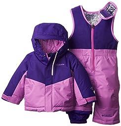 Columbia Baby Buga Snow Set, Hyper Purple/Blossom Pink, 6-12 Months