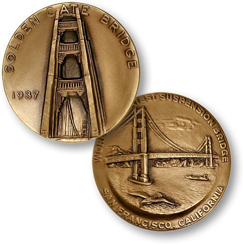 Golden Gate Bridge National Monument Coin - 1