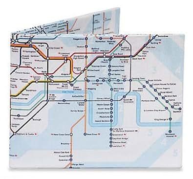 The Underground London Tyvek Mighty Wallet - 8x10 cm