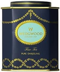 Wedgwood Everyday Luxury Pure Darjeeling Caddy, 125g, Blue