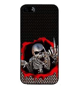 iFasho Modern Design skeleton Pattern Back Case Cover for Apple iPhone 5