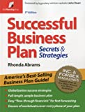 Image of Successful Business Plan: Secrets & Strategies (Successful Business Plan Secrets and Strategies)