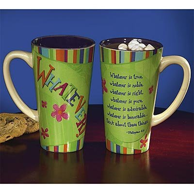 Large 16 Oz. Latte Mug / Coffee Mug - Whatever