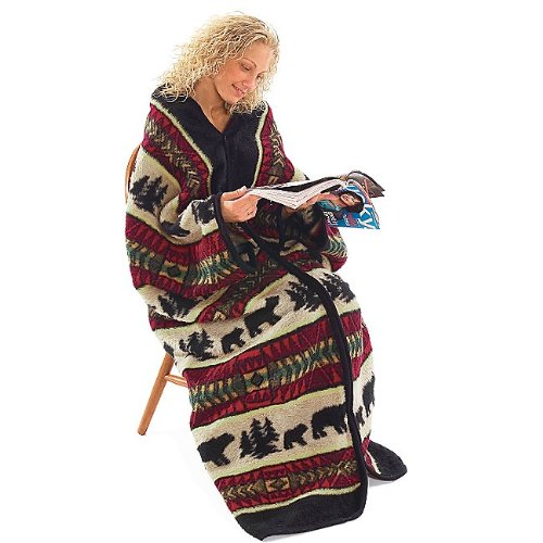 Bear Adventure Warm Me Up Blanket Wrap - 1