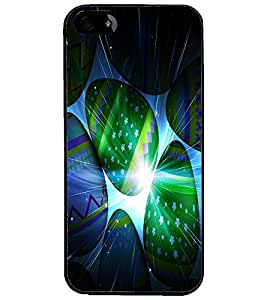 PrintDhaba Colourful Eggs D-3889 Back Case Cover for APPLE IPHONE 4 (Multi-Coloured)