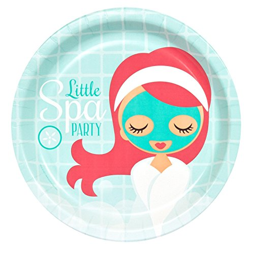 Little Spa Party Dinner Plates (8)