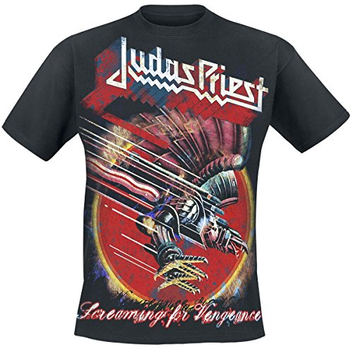 Judas Priest Screaming For Vengeance T-Shirt nero XL