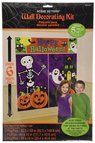 Halloween Family Friendly Scene Setters Room Decorating Kit