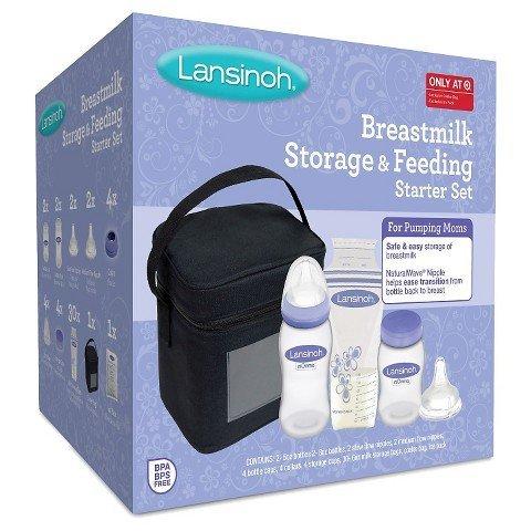Lansinoh Breastmilk Storage and Feeding Starter Kit (Lansinoh Starter Kit compare prices)