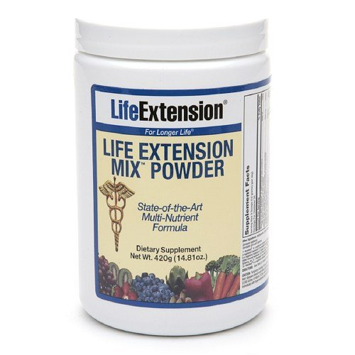 Life Extension Mix Powder Multivitamin 14.81 Oz (420 G)