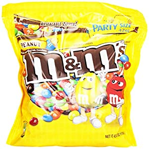 M&M's Peanut Candy, 42 Ounce Package