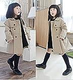i-loop キッズ トレンチコート ガールズ アウター 子供服 女の子 3歳-12歳 春・秋・冬 アウター コート (110cm) ランキングお取り寄せ