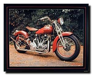 1940 crocker buck lovell fullzip motorrad for Wanddekoration vintage