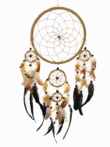 Traditional Handmade Dream Catcher Wall Hanging Ornament (With a Betterdecor Logo Bag)