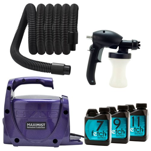 Amethyst Maxi Mist Xl Hvlp Sunless Tan Machine Fetch Dha Spray Tanning Kit front-779438