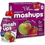 Plum Kids Organic Fruit Mashups Mixed Berry 4-Count (Pack Of 6)