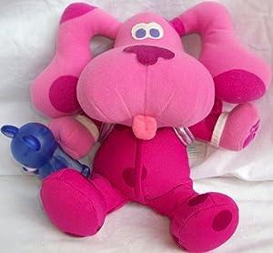 "Amazon.com: 10"" Plush Stuffed Blues Clues, Magenta, Fisher ..."