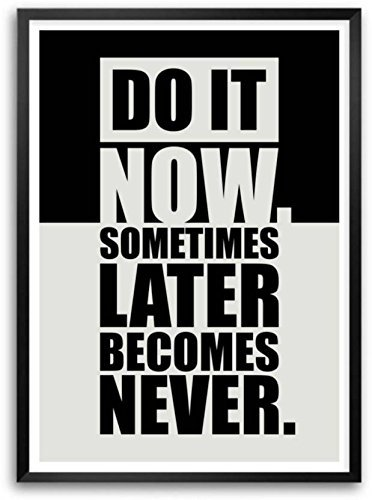 PPD Office Wall Poster Office Door Poster Home Wall Poster Wall Decor Poster (DO IT NOW)
