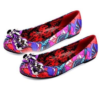 IRON FIST Dolly Shoes HAVANA BREEZE Flats Pumps Sequins UK 8