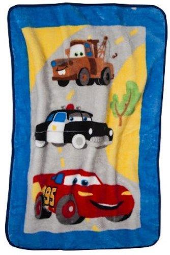 Kids Line, Disney Cars Junior Junction High Pile Blanket - 1