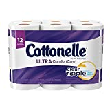 Cottonelle Ultra ComfortCare Big Roll Toilet Paper, Bath Tissue, 12 Count