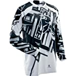 Thor Mens Phase Slab Motocross Jersey Black XXXL 3XL