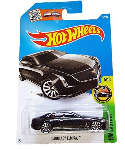 Hot Wheels, 2016 HW Exotics, Cadillac Elmiraj [Black] #75/250 (Cadillac Hot Wheels compare prices)