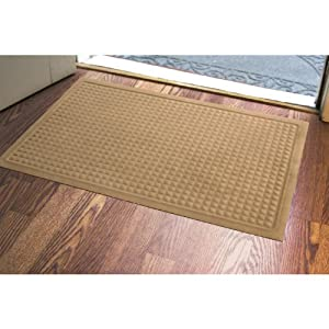 Low profile water trap door mat for Door mats amazon