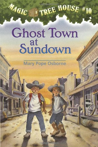 Ghost Town at Sundown (Magic Tree House) (Town Inc compare prices)