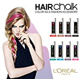 【ロレアル プロフェッショナル ヘアカラーチョーク】 hairchalk (バイオレット)アクセサリー感覚でヘアカラーチェンジ。 リキッドタイプのヘアチョーク