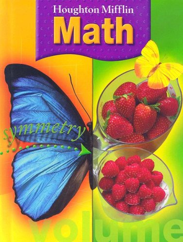 Buy Special Books : Houghton Mifflin Math (Grade 3) on