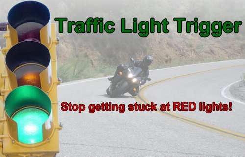 Green Light Trigger Traffic Lights HONDA MOTORCYCLE CRUISER HARLEY