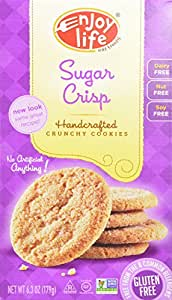 Enjoy Life Sugar Crunchy Cookie, 6.3-Ounce (Pack of 6)