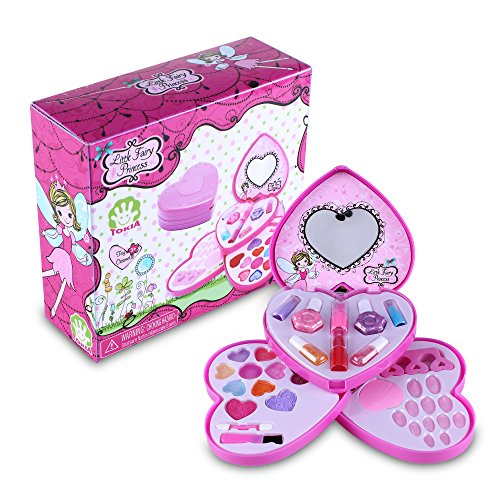 Tokia-Kids-Makeup-Set-for-Toddler-Girls-Pretend-Cosmetic-Play-Dress-Up-Kit-with-Brushes
