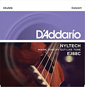 D'Addario ダダリオ ウクレレ弦 EJ88C Nyltech Concert コンサート (Aquira共同開発弦) 【国内正規品】