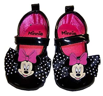 infant toddler black minnie mouse dress shoes