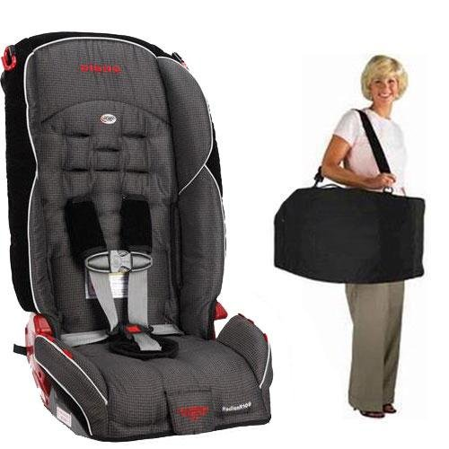 Diono Radian R100 Car Seat With Free Carrying Case - Shadow front-397125