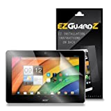 (2-Pack) EZGuardZ Tablet Screen Protector for Acer Iconia A3-A10 (Ultra Clear)