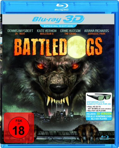 Battledogs [3D Blu-ray]