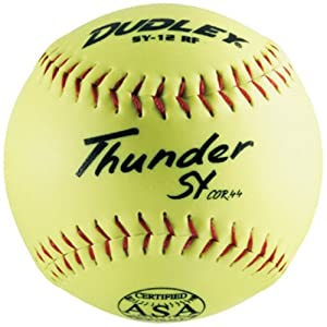 Dudley SY11GWSP-ASA 11 inch Synthetic Leather ASA Softball