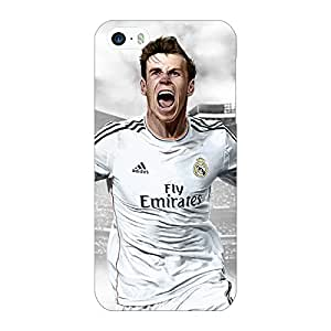 Jugaaduu Real Madrid Bale Back Cover Case For Apple iPhone 5S