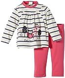 Stummer Baby - Mädchen Bekleidungsset 20201, Gr. 68, Elfenbein (012 snow white)