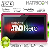 "7"" Matricom .TAB Nero Tablet PC - Android 4 Capacitive Multi-Touch 4GB (Pink)"